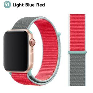 NEW[BAND] Light B-Red Strap Loop For Apple Watch